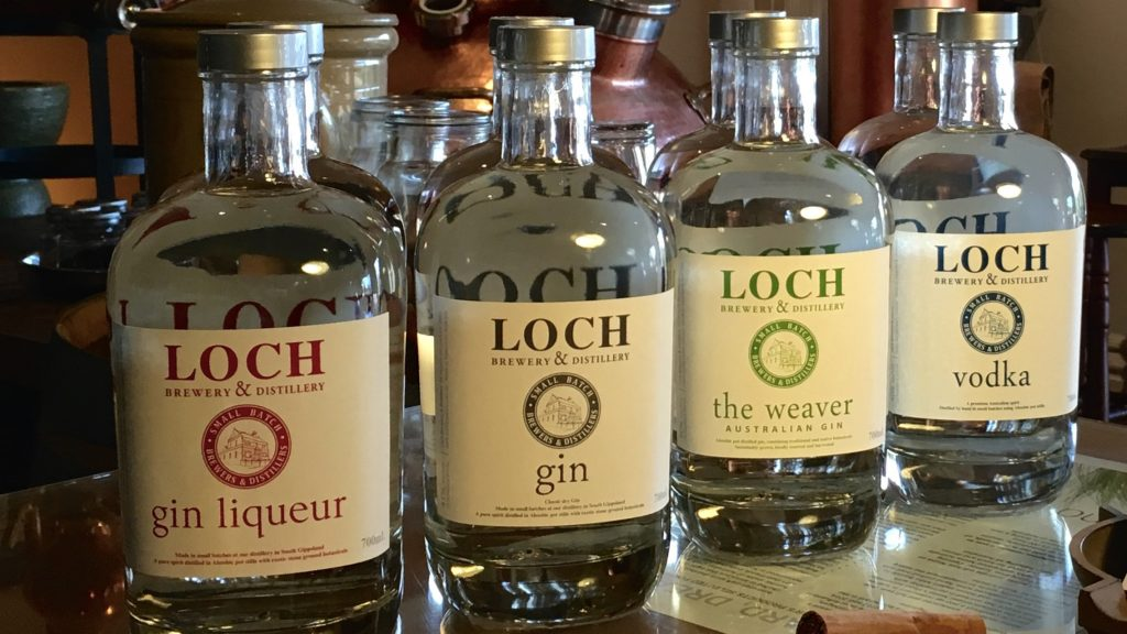 Loch Spirits—Gins & Vodka