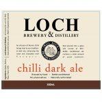 Chilli Dark Ale, label